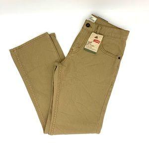Levi's Men's Slim Straight 29x29 British Khaki